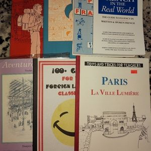 French books bundle of 7